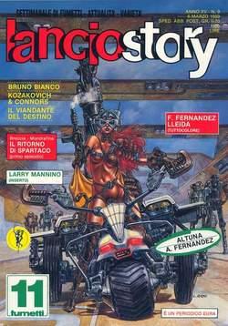 Copertina LANCIOSTORY ANNO 15 n.9 - LANCIOSTORY 1989    9, EDITORIALE AUREA