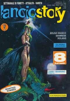 Copertina LANCIOSTORY ANNO 15 n.1 - LANCIOSTORY 1989    1, EDITORIALE AUREA