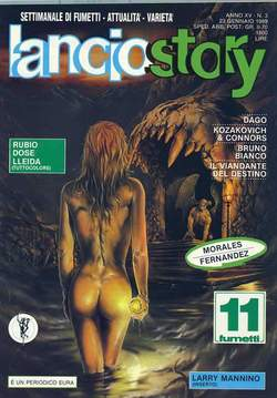 Copertina LANCIOSTORY ANNO 15 n.3 - LANCIOSTORY 1989    3, EDITORIALE AUREA