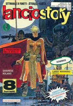 Copertina LANCIOSTORY ANNO 15 n.4 - LANCIOSTORY 1989    4, EDITORIALE AUREA