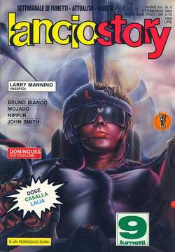 Copertina LANCIOSTORY ANNO 15 n.5 - LANCIOSTORY 1989    5, EDITORIALE AUREA
