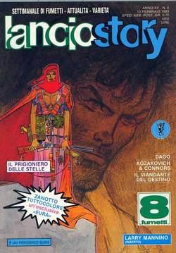 Copertina LANCIOSTORY ANNO 15 n.6 - LANCIOSTORY 1989    6, EDITORIALE AUREA