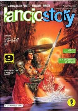 Copertina LANCIOSTORY ANNO 16 n.12 - LANCIOSTORY 1990   12, EDITORIALE AUREA