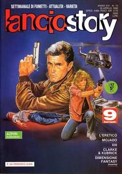 Copertina LANCIOSTORY ANNO 16 n.15 - LANCIOSTORY 1990   15, EDITORIALE AUREA