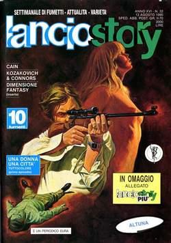 Copertina LANCIOSTORY ANNO 16 n.32 - LANCIOSTORY 1990   32, EDITORIALE AUREA