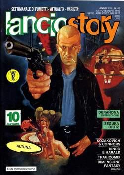 Copertina LANCIOSTORY ANNO 16 n.45 - LANCIOSTORY 1990   45, EDITORIALE AUREA