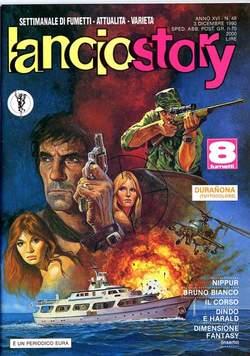 Copertina LANCIOSTORY ANNO 16 n.48 - LANCIOSTORY 1990   48, EDITORIALE AUREA