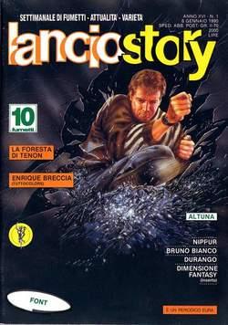 Copertina LANCIOSTORY ANNO 16 n.1 - LANCIOSTORY 1990    1, EDITORIALE AUREA