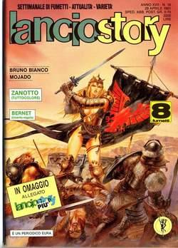 Copertina LANCIOSTORY ANNO 17 n.16 - LANCIOSTORY 1991   16, EDITORIALE AUREA