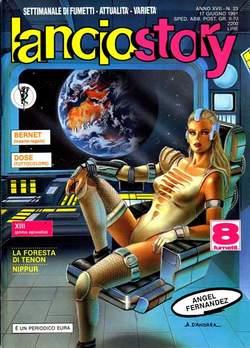 Copertina LANCIOSTORY ANNO 17 n.23 - LANCIOSTORY 1991   23, EDITORIALE AUREA