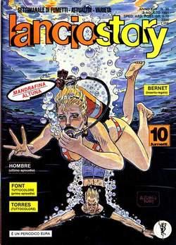 Copertina LANCIOSTORY ANNO 17 n.30 - LANCIOSTORY 1991   30, EDITORIALE AUREA