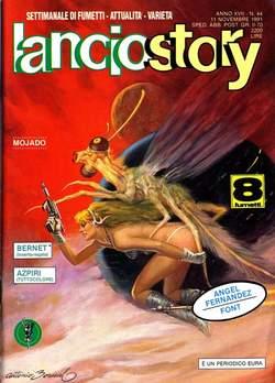Copertina LANCIOSTORY ANNO 17 n.44 - LANCIOSTORY 1991   44, EDITORIALE AUREA