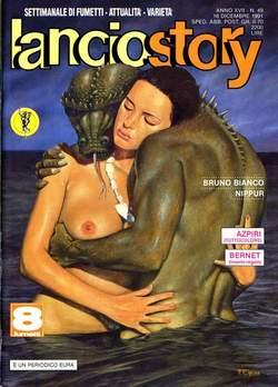 Copertina LANCIOSTORY ANNO 17 n.49 - LANCIOSTORY 1991   49, EDITORIALE AUREA