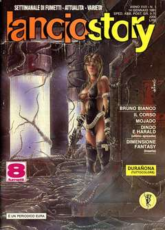 Copertina LANCIOSTORY ANNO 17 n.1 - LANCIOSTORY 1991    1, EDITORIALE AUREA