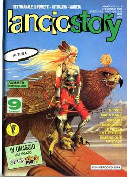 Copertina LANCIOSTORY ANNO 17 n.4 - LANCIOSTORY 1991    4, EDITORIALE AUREA