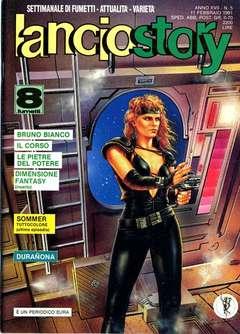 Copertina LANCIOSTORY ANNO 17 n.5 - LANCIOSTORY 1991    5, EDITORIALE AUREA