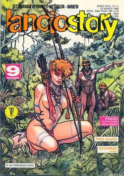 Copertina LANCIOSTORY ANNO 18 n.11 - LANCIOSTORY 1992   11, EDITORIALE AUREA