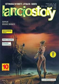 Copertina LANCIOSTORY ANNO 18 n.16 - LANCIOSTORY 1992   16, EDITORIALE AUREA