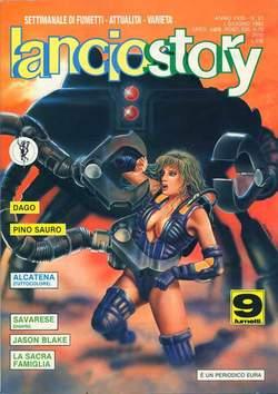 Copertina LANCIOSTORY ANNO 18 n.21 - LANCIOSTORY 1992   21, EDITORIALE AUREA
