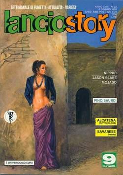 Copertina LANCIOSTORY ANNO 18 n.22 - LANCIOSTORY 1992   22, EDITORIALE AUREA