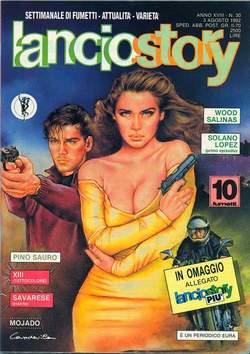 Copertina LANCIOSTORY ANNO 18 n.30 - LANCIOSTORY 1992   30, EDITORIALE AUREA