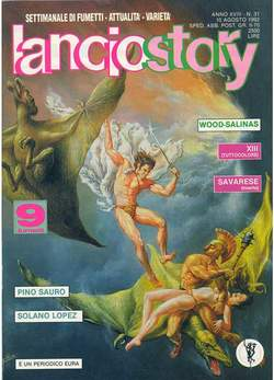 Copertina LANCIOSTORY ANNO 18 n.31 - LANCIOSTORY 1992   31, EDITORIALE AUREA