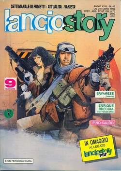 Copertina LANCIOSTORY ANNO 18 n.42 - LANCIOSTORY 1992   42, EDITORIALE AUREA