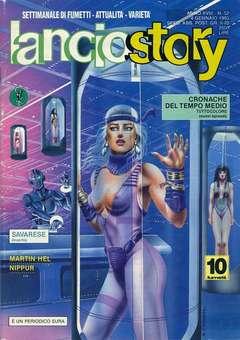 Copertina LANCIOSTORY ANNO 18 n.52 - LANCIOSTORY 1992   52, EDITORIALE AUREA