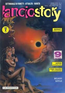 Copertina LANCIOSTORY ANNO 18 n.2 - LANCIOSTORY 1992    2, EDITORIALE AUREA