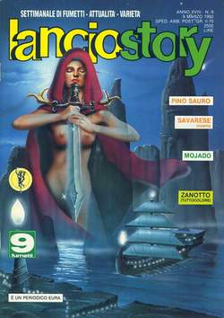 Copertina LANCIOSTORY ANNO 18 n.9 - LANCIOSTORY 1992    9, EDITORIALE AUREA
