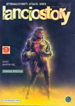 Copertina LANCIOSTORY ANNO 19 n.13 - LANCIOSTORY 1993   13, EDITORIALE AUREA