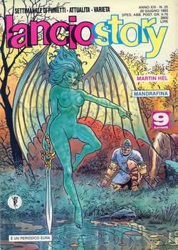 Copertina LANCIOSTORY ANNO 19 n.25 - LANCIOSTORY 1993   25, EDITORIALE AUREA