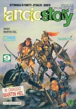 Copertina LANCIOSTORY ANNO 19 n.34 - LANCIOSTORY 1993   34, EDITORIALE AUREA