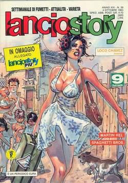 Copertina LANCIOSTORY ANNO 19 n.39 - LANCIOSTORY 1993   39, EDITORIALE AUREA