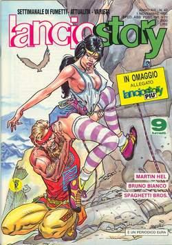 Copertina LANCIOSTORY ANNO 19 n.43 - LANCIOSTORY 1993   43, EDITORIALE AUREA