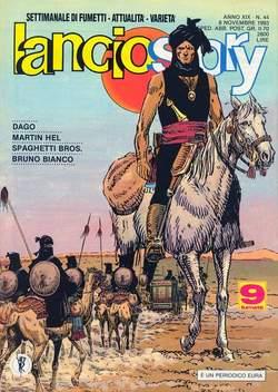 Copertina LANCIOSTORY ANNO 19 n.44 - LANCIOSTORY 1993   44, EDITORIALE AUREA