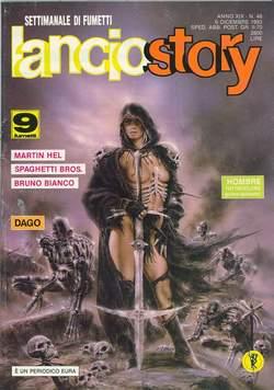 Copertina LANCIOSTORY ANNO 19 n.48 - LANCIOSTORY 1993   48, EDITORIALE AUREA
