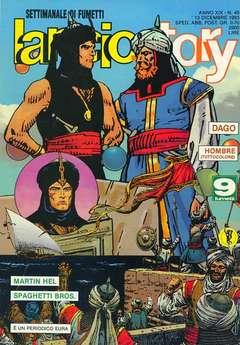 Copertina LANCIOSTORY ANNO 19 n.49 - LANCIOSTORY 1993   49, EDITORIALE AUREA