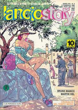 Copertina LANCIOSTORY ANNO 19 n.5 - LANCIOSTORY 1993    5, EDITORIALE AUREA