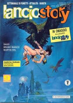 Copertina LANCIOSTORY ANNO 19 n.6 - LANCIOSTORY 1993    6, EDITORIALE AUREA