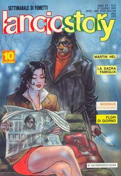 Copertina LANCIOSTORY ANNO 20 n.25 - LANCIOSTORY 1994   25, EDITORIALE AUREA