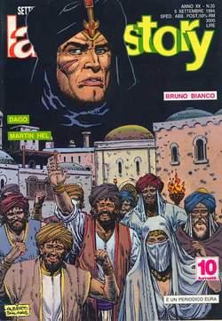 Copertina LANCIOSTORY ANNO 20 n.35 - LANCIOSTORY 1994   35, EDITORIALE AUREA