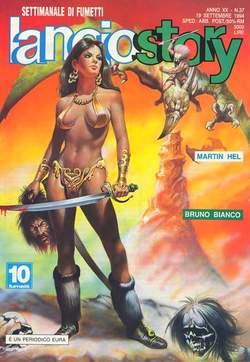 Copertina LANCIOSTORY ANNO 20 n.37 - LANCIOSTORY 1994   37, EDITORIALE AUREA