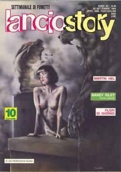 Copertina LANCIOSTORY ANNO 20 n.38 - LANCIOSTORY 1994   38, EDITORIALE AUREA