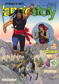 Copertina LANCIOSTORY ANNO 20 n.39 - LANCIOSTORY 1994   39, EDITORIALE AUREA