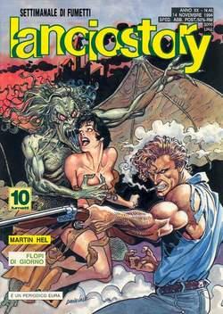 Copertina LANCIOSTORY ANNO 20 n.45 - LANCIOSTORY 1994   45, EDITORIALE AUREA