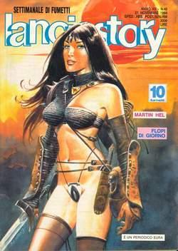 Copertina LANCIOSTORY ANNO 20 n.46 - LANCIOSTORY 1994   46, EDITORIALE AUREA