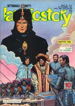 Copertina LANCIOSTORY ANNO 20 n.47 - LANCIOSTORY 1994   47, EDITORIALE AUREA