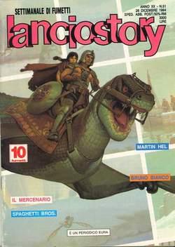 Copertina LANCIOSTORY ANNO 20 n.51 - LANCIOSTORY 1994   51, EDITORIALE AUREA