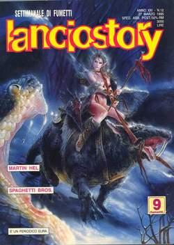 Copertina LANCIOSTORY ANNO 21 n.12 - LANCIOSTORY 1995   12, EDITORIALE AUREA